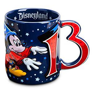 Sorcerer Mickey Mouse Mug - Disneyland 2013