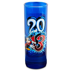 Sorcerer Mickey Mouse Mini Glass - Disneyland 2013