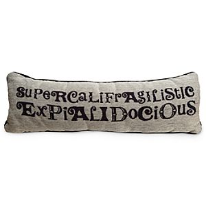 Mary Poppins Pillow - Supercalifragilisticexpialidocious
