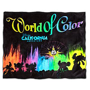 World of Color Blanket - Disney California Adventure
