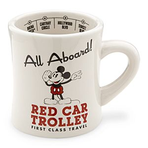 Mickey Mouse Red Car Trolley Mug - Disney California Adventure