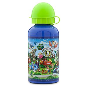 Storybook Disneyland Aluminum Water Bottle - Small