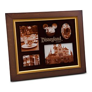 Disneyland Wood Photo Frame - Multi-Window