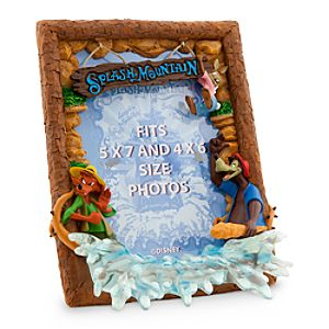 Brer Rabbit, Brer Bear, and Brer Fox Photo Frame - Splash Mountain