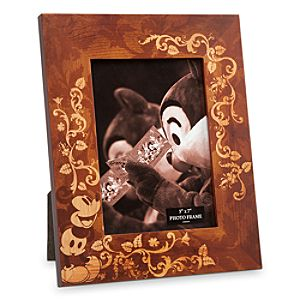 Mickey Mouse Illustrated Wood Photo Frame - 5 x 7