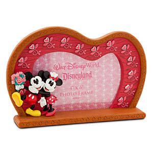Mickey and Minnie Mouse Sweetheart Photo Frame