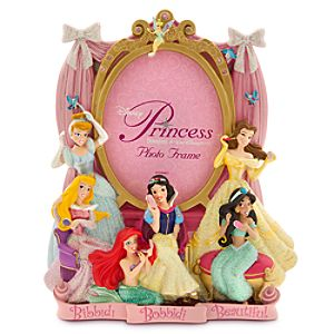 Disney Princess Sculptured Photo Frame