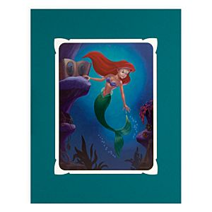 Ariel Longing to Dance Deluxe Print by Larry Nikolai