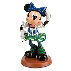 Minnie Mouse Highland Dancer Figurine
