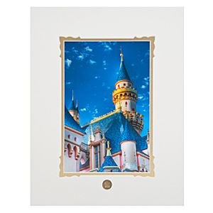 Sleeping Beauty Gold Art Print by Scott Brinegar & Amanda Harvie