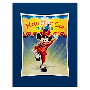 Mickey Mouse Club Theater Deluxe Print by Greg McCullough