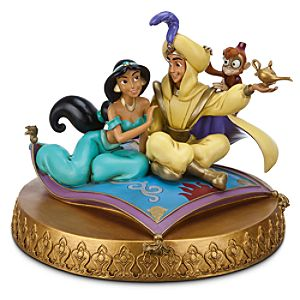Aladdin and Jasmine Figure