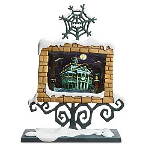 Haunted Mansion Holiday Lenticular Artwork