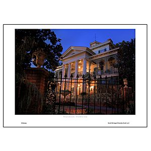 Mansion Morning Art Print by Scott Brinegar
