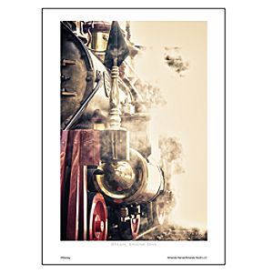 Steam, Engine One Art Print by Amanda Harvie