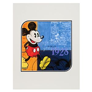 Mickey 1928 Art Print by Costa Alavezos