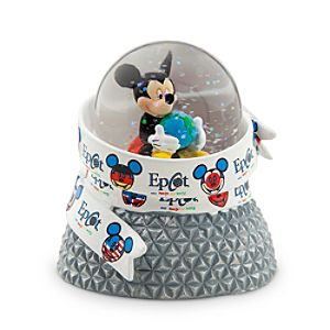 Mickey Mouse Mini Snowglobe - Epcot