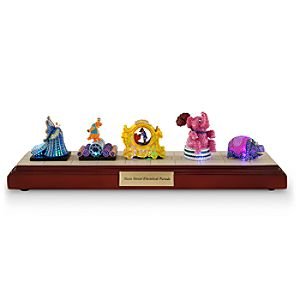 Disneyland Main Street Electrical Parade Miniature by Olszewski - Set 4