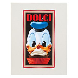 Donald Duck Dolci Donald Duck Art Print by Brian Blackmore