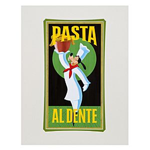 Pasta Goofy Art Print by Brian Blackmore