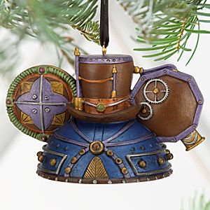 Steampunk Ear Hat Limited Edition Ornament - Top Hat