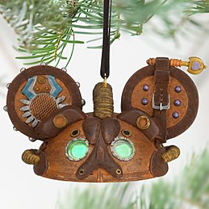 Steampunk Ear Hat Ornament - Leather