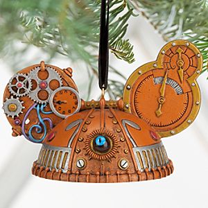 Steampunk Ear Hat Ornament - Eye