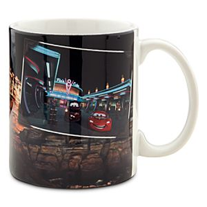 Cars Land Flos V8 Cafe Mug