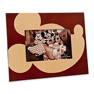 Mickey Mouse Wood Photo Frame - 4 x 6