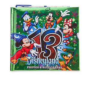 Sorcerer Mickey Mouse Autograph Book - Disneyland 2013