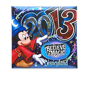 Sorcerer Mickey Mouse Photo Album - Disneyland 2013 - Medium