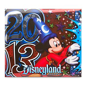 Sorcerer Mickey Mouse Scrapbook Album - Disneyland 2013 - Large