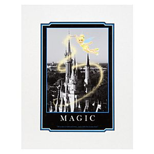 Tinker Bell Magic Art Print