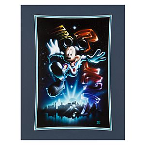 Mickey Mouse The 21st Century Begins Art Print by Noah