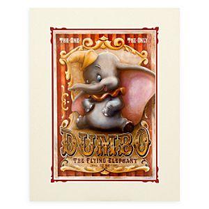 Dumbo Circus Deluxe Print by Darren Wilson