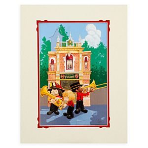 Disneyland Fire Dept. Deluxe Print