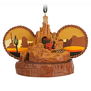 Big Thunder Mountain Railroad Ear Hat Ornament