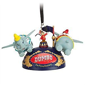 Dumbo the Flying Elephant Ear Hat Ornament