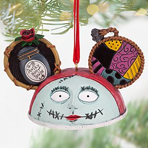 Sally Ear Hat Ornament - Tim Burtons The Nightmare Before Christmas