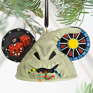 Oogie Boogie Ear Hat Ornament - Tim Burtons The Nightmare Before Christmas