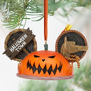 Pumpkin King Ear Hat Ornament - Tim Burtons The Nightmare Before Christmas