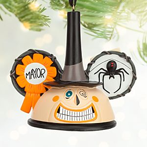 Mayor Ear Hat Ornament - Tim Burtons The Nightmare Before Christmas