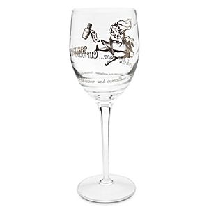 Alice in Wonderland Stemmed Glass