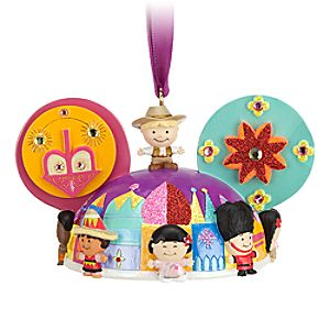 its a small world Ear Hat Ornament