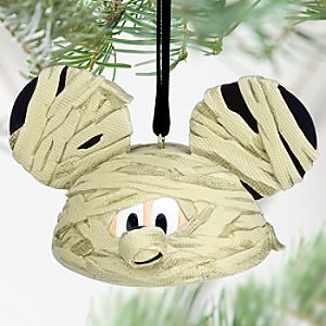 Mickey Mouse Ear Hat Ornament - Halloween