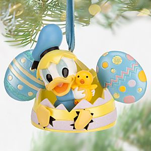 Donald Duck Ear Hat Ornament - Easter