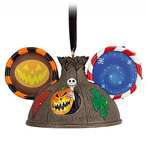 Tim Burtons The Nightmare Before Christmas Ear Hat Ornament
