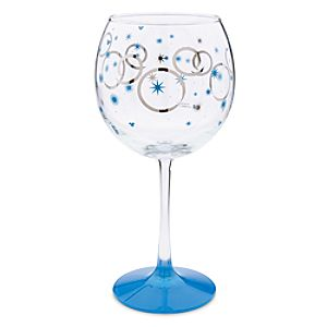 Mickey Mouse Hanukkah Stemmed Glass
