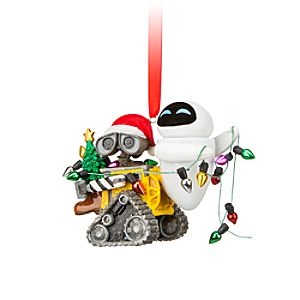 EVE and WALL-E Ornament
