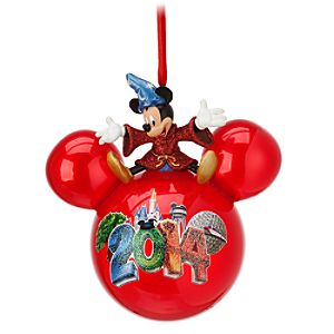 Sorcerer Mickey Mouse Ornament - Walt Disney World 2014